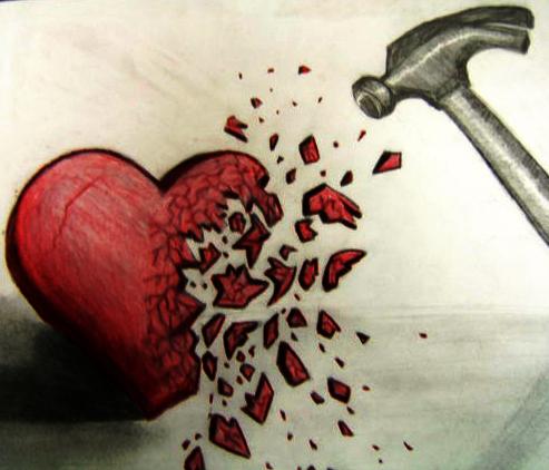 Боль после расставания с девушкой