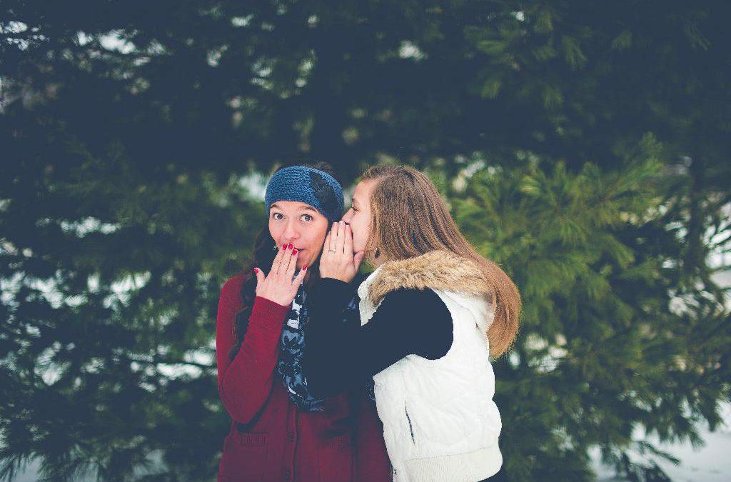 Как сплетни разрушают дружбу